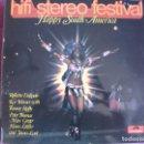 Discos de vinilo: LP - HAPPY SOUTH AMERICA - VARIOS (GERMANY, POLYDOR 1970) (VER FOTO ADJUNTA). Lote 169212788