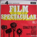 Discos de vinilo: LP - STANLEY BLACK - FILM SPECTACULAR VOL. 3 (ENGLAND, DECCA 4 FASES 1966). Lote 169213292