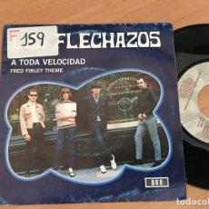 Dischi in vinile: LOS FLECHAZOS (A TODA VELOCIDAD) SINGLE ESPAÑA 1992 (EPI14). Lote 169234660