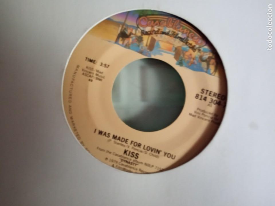 Discos de vinilo: KISS ROCK AND ROLL ALL NIGHT/ I WAS MADE FOR LOVIN YOU ORIGINAL USA 1979 RARO VG++ - Foto 2 - 157377922