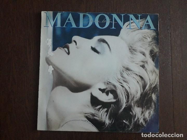 DISCO VINILO LP, MADONNA, TRUE BLUE. AÑO 1986 (Música - Discos - LP Vinilo - Pop - Rock - New Wave Extranjero de los 80)