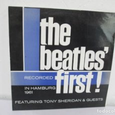 Discos de vinilo: THE BEATLES´FIRST! IN HAMBURG 1961. FEATURING SHERIDAN & GUEST. POLYGRAM 1961. Lote 169259240