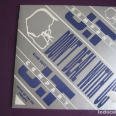 Discos de vinilo: J.T COMPANY SG EASTWEST 1990 DON'T DEAL WITH US +1 ITALOHOUSE - ELECTRONICA DISCO 90'S - SIN USO. Lote 169262076