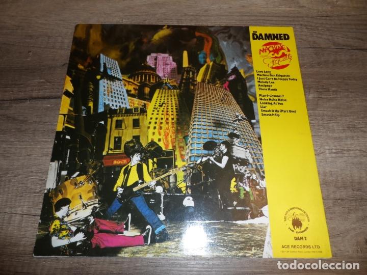 Discos de vinilo: THE DAMNED - MACHINE GUN ETIQUETTE (GERMANY 1979) - Foto 2 - 169264828
