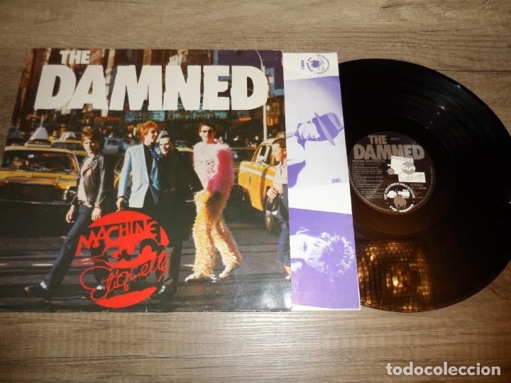THE DAMNED - MACHINE GUN ETIQUETTE (GERMANY 1979) (Música - Discos - LP Vinilo - Punk - Hard Core)