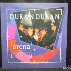 Disques de vinyle: DURAN DURAN - ARENA - LP. Lote 169267980