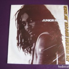 Discos de vinilo: JUNIOR REID ?SG BIG LIFE 1991 GREAT TRAIN ROBBERY +1 REGGAE DUB SOUL - SIN ESTRENAR. Lote 169268720