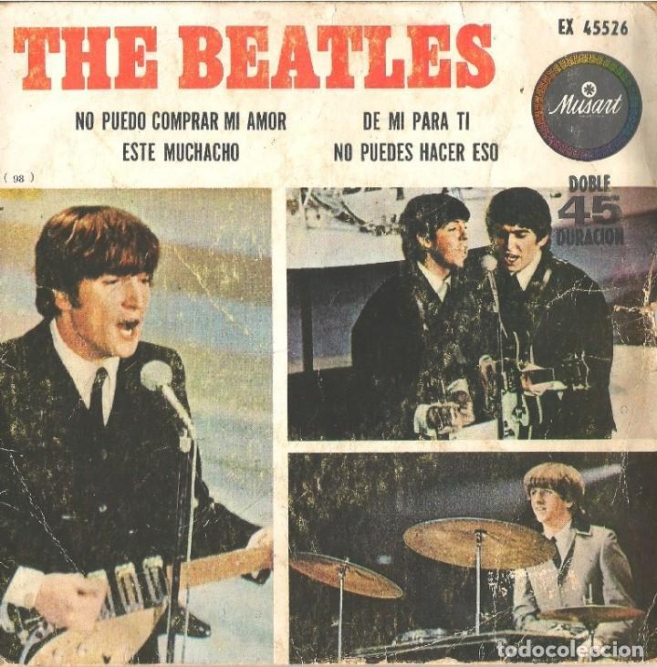 BEATLES EDICIÓN MÉXICO (Música - Discos de Vinilo - EPs - Pop - Rock Internacional de los 50 y 60)