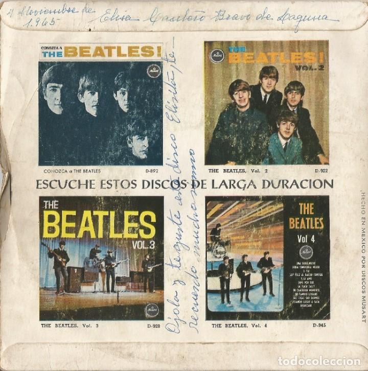 Discos de vinilo: BEATLES EDICIÓN MÉXICO - Foto 2 - 169292972