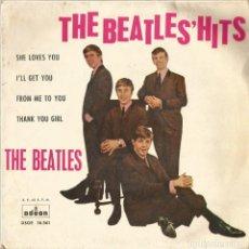 Discos de vinilo: BEATLES 1963. Lote 169293184