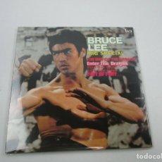 Discos de vinilo: DOBLE VINILO EDICIÓN JAPONESA DE OST ( BSO - BANDAS SONORAS ) BRUCE LEE - BIG SPECIAL. Lote 169298876