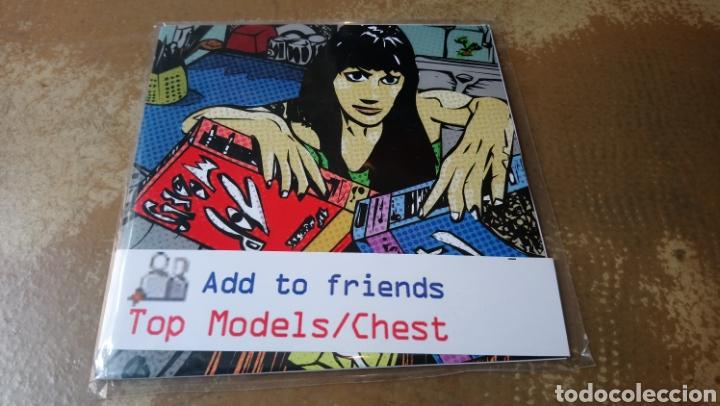 TOP MODELS /CHEST –ADD TO FRIENDS . EP VINILO PERFECTO ESTADO. (Música - Discos de Vinilo - EPs - Pop - Rock Internacional de los 90 a la actualidad)