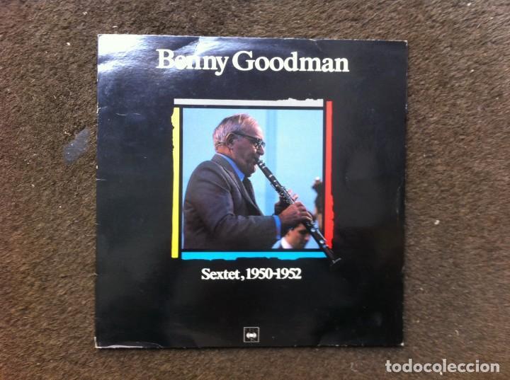 BENNY GOODMAN. SEXTET, 1950-1952 (LP) CBS (Música - Discos - LP Vinilo - Otros estilos)