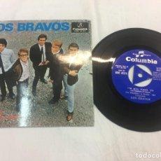 Discos de vinilo: LOS BRAVOS SYMPHATY SINGLE ORIGINAL AÑOS 60/70. RAD75. Lote 169321721