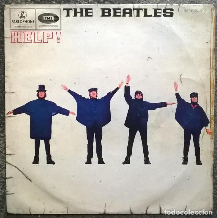 THE BEATLES. HELP! PARLOPHONE, HOLLAND 1965 LP (PMC 1255) (Música - Discos - LP Vinilo - Pop - Rock Extranjero de los 50 y 60)