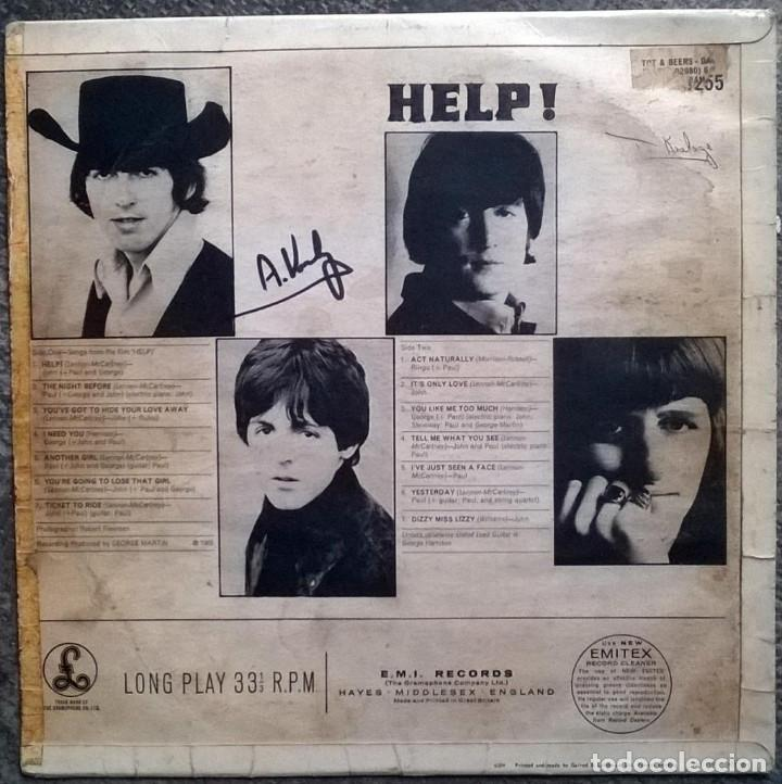 Discos de vinilo: The Beatles. Help! Parlophone, Holland 1965 LP (PMC 1255) - Foto 2 - 169328256