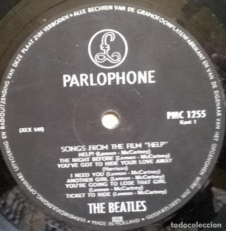 Discos de vinilo: The Beatles. Help! Parlophone, Holland 1965 LP (PMC 1255) - Foto 3 - 169328256