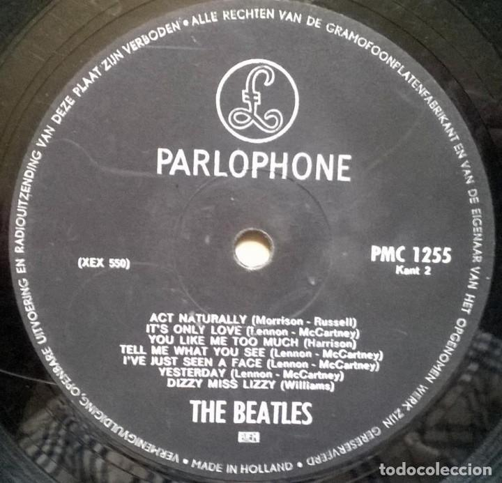 Discos de vinilo: The Beatles. Help! Parlophone, Holland 1965 LP (PMC 1255) - Foto 4 - 169328256