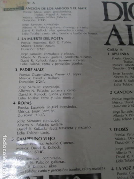 Discos de vinilo: DIOSES ALPATACO. LP VINILO. RCA 1978. VER FOTOGRAFIAS ADJUNTAS - Foto 7 - 169329632