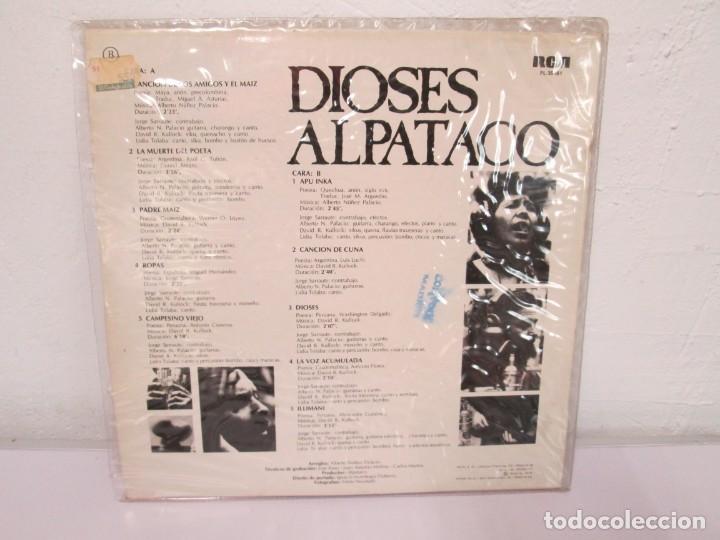 Discos de vinilo: DIOSES ALPATACO. LP VINILO. RCA 1978. VER FOTOGRAFIAS ADJUNTAS - Foto 10 - 169329632