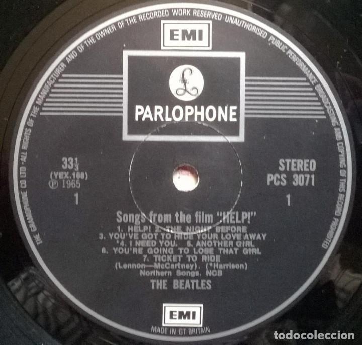 Discos de vinilo: The Beatles. Help! Parlophone, UK 1965 LP Stereo (PCS 3071) - Foto 3 - 169330192