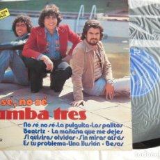 Vinyl-Schallplatten - RUMBA TRES : No sé, no sé. 1979. Belter 2-27.018 - 169331368