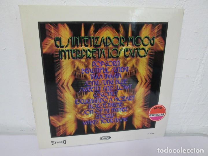 EL SINTETIZADOR MOOG INTERPRETA LOS EXITOS. LP VINILO. MOVIEPLAY. 1972. (Música - Discos - LP Vinilo - Disco y Dance)
