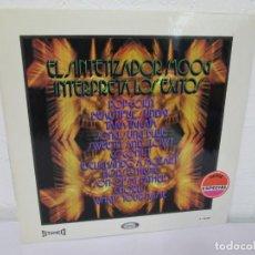 Discos de vinilo: EL SINTETIZADOR MOOG INTERPRETA LOS EXITOS. LP VINILO. MOVIEPLAY. 1972.. Lote 169331668