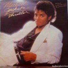 Dischi in vinile: MICHAEL JACKSON. THRILLER. EDICIÓN ESPAÑA ORIGINAL 1982. LP PORTADA ABIERTA + FUNDA INTERIOR LETRAS. Lote 169334000