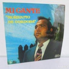 Discos de vinilo: MI CANTE. MORENITO DE CORDOBA. LP VINILO. DIRESA 1973. VER FOTOGRAFIAS ADJUNTAS. Lote 169364824