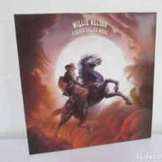 Discos de vinilo: WILLIE NELSON. A HORSE CALLED MUSIC. LP VINILO. CBS 1989. VER FOTOGRAFIAS ADJUNTAS. Lote 169372232