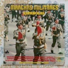 Discos de vinilo: MARCHAS MILITARES ESPAÑOLAS DISCO LP. Lote 169384261