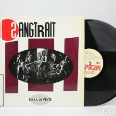 Discos de vinilo: DISCO LP DE VINILO - SANGTRAÏT / TERRA DE VENTS - PICAP - AÑO 1990. Lote 169389872