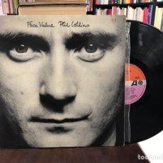 Discos de vinilo: FACE VALUE. PHIL COLLINS. Lote 169392682