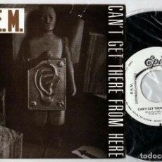 Discos de vinilo: R.E.M: PROMO ESPAÑOL PORTADA DIFERENTE- UNICO PARA COLECCIONISTAS DE LA BANDA- CASI MINT!!!. Lote 169395628