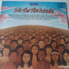Discos de vinilo: WE ARE THE WORLD, MICHEL JACKSON USA FOR AFRICA. Lote 169399884