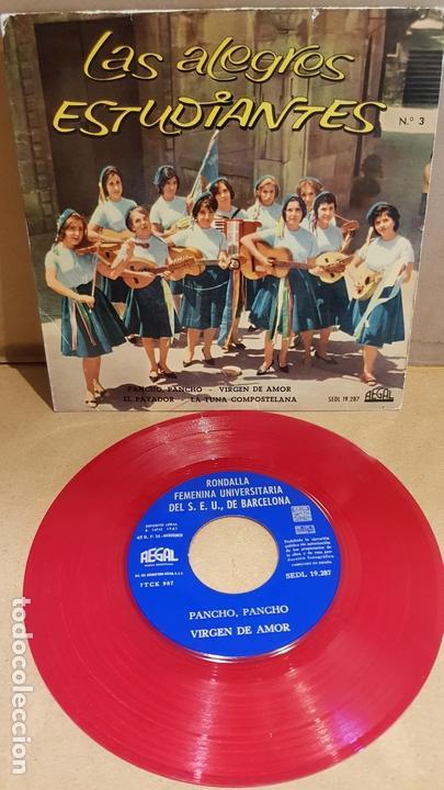 LAS ALEGRES ESTUDIANTES Nº 3 / PANCHO, PANCHO / EP - REGAL-1961 / MBC. ***/*** (Música - Discos de Vinilo - EPs - Grupos Españoles 50 y 60)