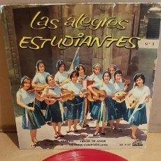 Discos de vinilo: LAS ALEGRES ESTUDIANTES Nº 3 / PANCHO, PANCHO / EP - REGAL-1961 / MBC. ***/***. Lote 169405952