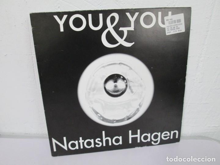 YOU & YOU. NATASHA HAGEN. LP VINILO. BLANCO Y NEGRO MUSIC. 1997. VER FOTOGRAFIAS ADJUNTAS (Música - Discos - LP Vinilo - Disco y Dance)