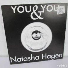 Discos de vinilo: YOU & YOU. NATASHA HAGEN. LP VINILO. BLANCO Y NEGRO MUSIC. 1997. VER FOTOGRAFIAS ADJUNTAS. Lote 169406876