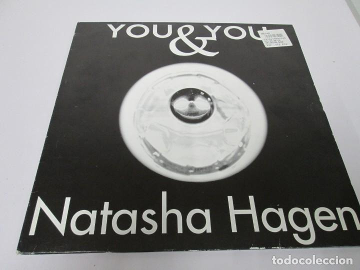 Discos de vinilo: YOU & YOU. NATASHA HAGEN. LP VINILO. BLANCO Y NEGRO MUSIC. 1997. VER FOTOGRAFIAS ADJUNTAS - Foto 2 - 169406876