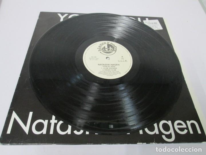 Discos de vinilo: YOU & YOU. NATASHA HAGEN. LP VINILO. BLANCO Y NEGRO MUSIC. 1997. VER FOTOGRAFIAS ADJUNTAS - Foto 3 - 169406876