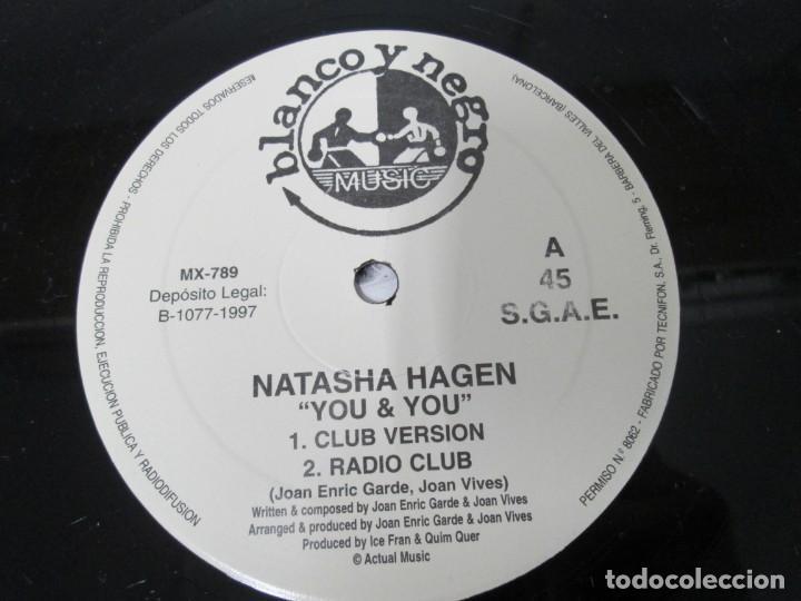 Discos de vinilo: YOU & YOU. NATASHA HAGEN. LP VINILO. BLANCO Y NEGRO MUSIC. 1997. VER FOTOGRAFIAS ADJUNTAS - Foto 4 - 169406876
