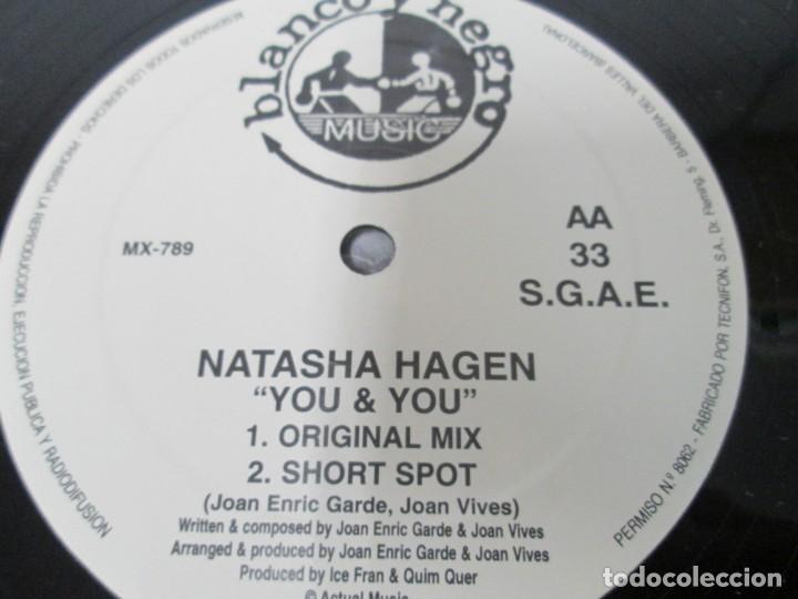 Discos de vinilo: YOU & YOU. NATASHA HAGEN. LP VINILO. BLANCO Y NEGRO MUSIC. 1997. VER FOTOGRAFIAS ADJUNTAS - Foto 6 - 169406876