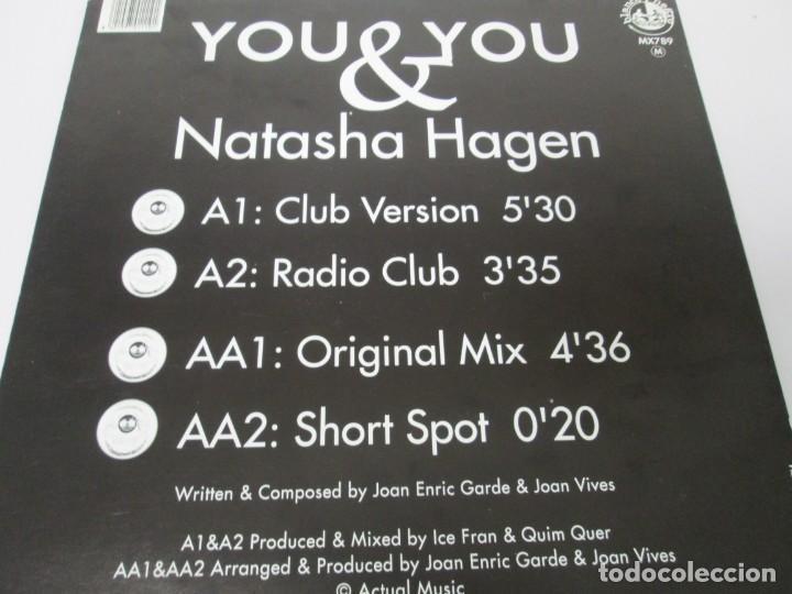 Discos de vinilo: YOU & YOU. NATASHA HAGEN. LP VINILO. BLANCO Y NEGRO MUSIC. 1997. VER FOTOGRAFIAS ADJUNTAS - Foto 7 - 169406876