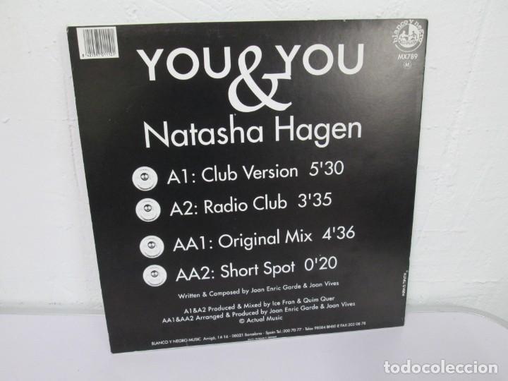 Discos de vinilo: YOU & YOU. NATASHA HAGEN. LP VINILO. BLANCO Y NEGRO MUSIC. 1997. VER FOTOGRAFIAS ADJUNTAS - Foto 8 - 169406876