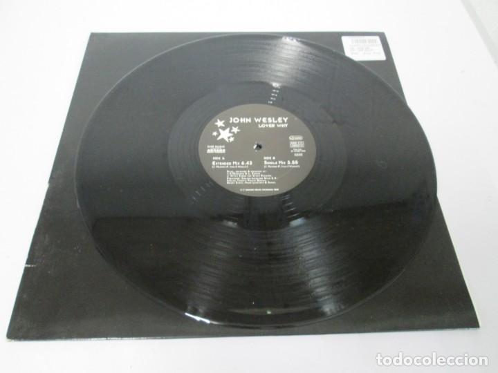Discos de vinilo: JOHN WESLEY. LOVER WHY. LP VINILO. ARCADE MUSIC 1996. VER FOTOGRAFIAS ADJUNTAS - Foto 3 - 169408904