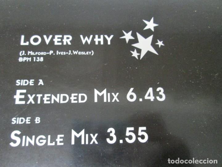 Discos de vinilo: JOHN WESLEY. LOVER WHY. LP VINILO. ARCADE MUSIC 1996. VER FOTOGRAFIAS ADJUNTAS - Foto 7 - 169408904