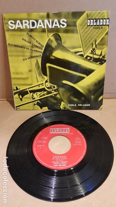 COBLA ORLADOR / SARDANAS / EP - ORLADOR-1963 / MBC. ***/*** (Música - Discos de Vinilo - EPs - Country y Folk)