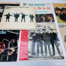 Discos de vinilo: LOTE 7 EPS BEATLES: HELP, HEY JUDE, MISERY, KANSAS CITY, OB LA DI, OB LA DA, DAY TRIPPER..... Lote 169411892